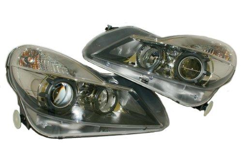 2008- MERCEDES SL R230 W230 Black Series HeadLights PAIR Xenon SL65 SL350 SL500 - Aftermarket Garage