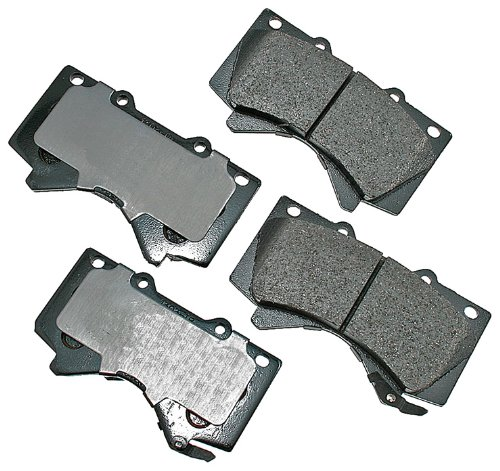 Akebono Act1303 Proact Ultra Premium Ceramic Brake Pad Set