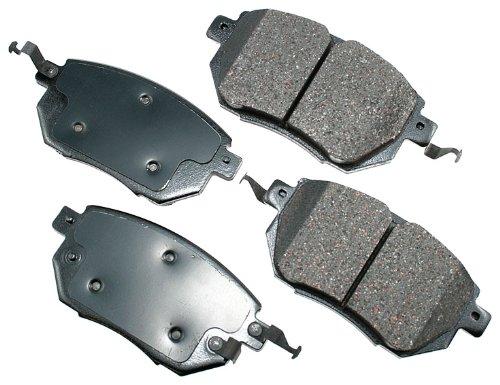 Akebono Act969 Proact Ultra Premium Ceramic Brake Pad Set