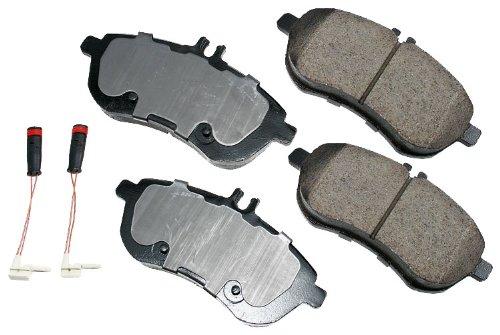 Disc Brake Pad Set-Euro Ultra Premium Ceramic Pads Rear Akebono EUR874
