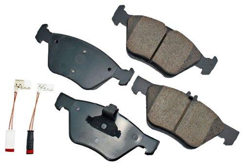 Akebono Eur853a Euro Ultra Premium Ceramic Front Brake Pad