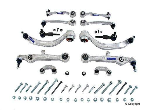 audi s4 quattro meyle heavy duty 12 piece front suspension control arm kit  2004 04 2005 05 2006