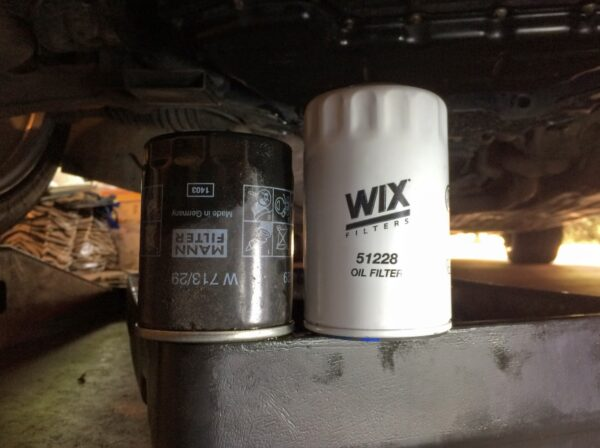 Oil Filters - Mann & Wix - Jaguar X350