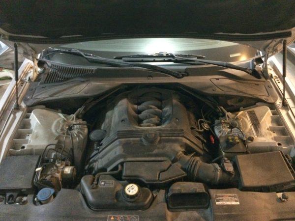 Before - Mina Gallery Direct Air Intake - Jaguar XJ8