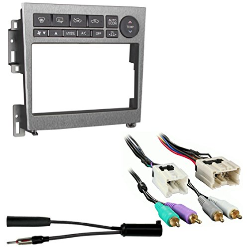 Metra 95-7605A Double DIN Stereo Installation Dash Kit for ... on alpine stereo harness, obd0 to obd1 conversion harness, dog harness, fall protection harness, pony harness, suspension harness, amp bypass harness, electrical harness, nakamichi harness, maxi-seal harness, engine harness, radio harness, safety harness, battery harness, pet harness, cable harness, oxygen sensor extension harness,