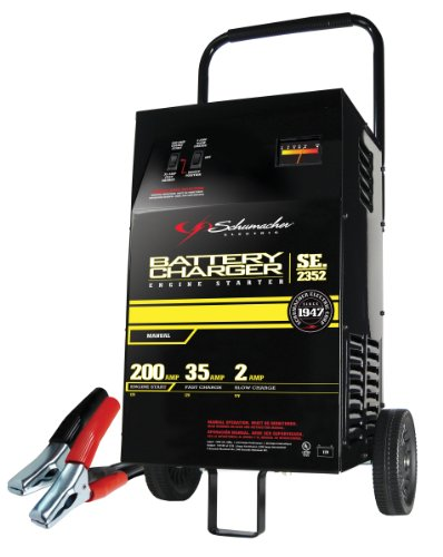 schumacher se 2352 2 35 200 amp manual battery charger aftermarket rh aftermarketgarage com Schumacher Battery Charger Parts Manual Schumacher Battery Charger Owner's Manual