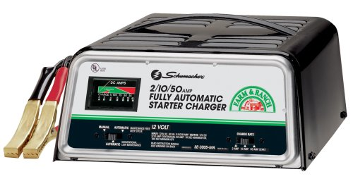 Schumacher Se 10  50 Amp Fully Automatic Charger