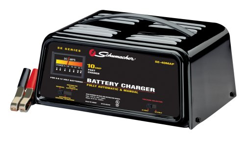 Schumacher Battery Charger Manual >> Shumacher Se 40map 10 Amp Automatic Manual Battery Charger