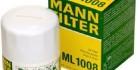 (12-pk) Mann-Filter ML 1008 Oil Filter