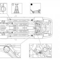 Jaguar XJ8 X350 Mount Points